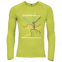 Chillaz - L/S Verdon Map - Longsleeve