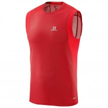 Salomon - Trail Runner Sleeveless Tee - Løpetrøye