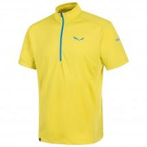 Salewa - Pedroc Dry S/S Half-Zip Tee - T-shirt