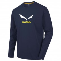 Salewa - Solidlogo 2 Cotton L/S Tee - Longsleeve