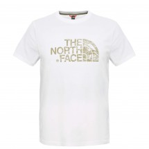 The North Face - S/S Woodcut Dome Tee - T-shirt