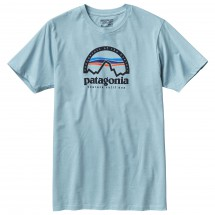 Patagonia - Arched Logo Cotton/Poly T-Shirt - T-shirt