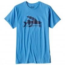 Patagonia - Flying Fish Cotton/Poly T-Shirt - T-paidat