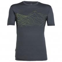 Icebreaker - Tech Lite S/S Crewe Topochartic - T-shirt
