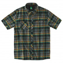 Hippy Tree - S/S Button Up Moab Flannel - Overhemd