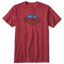 Patagonia - Fitz Roy Crest Cotton/Poly T-Shirt - T-shirt
