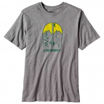Patagonia - Live Simply Split Cotton T-Shirt - T-shirt