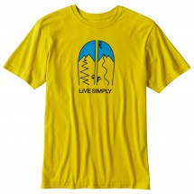 Patagonia - Live Simply Split Cotton T-Shirt - T-paidat