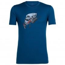 Icebreaker - Tech Lite S/S Crewe Snow Bug - Sport shirt