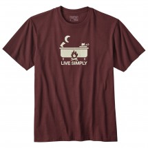 Patagonia - Live Simply Hot Tub Cotton/Poly Responsibili-Tee - T-paidat