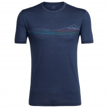 Icebreaker - Spector S/S Crewe Waterline - T-shirt