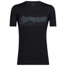 Icebreaker - Tech Lite S/S Crewe Haute Route - T-skjorte