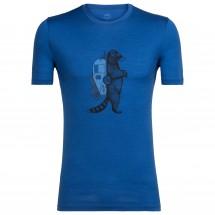 Icebreaker - Tech Lite S/S Crewe Waschbar Wandering - T-shirt