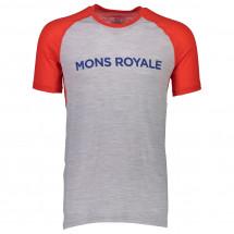 Mons Royale - Temple Raglan Tech T Geo - Tekninen paita