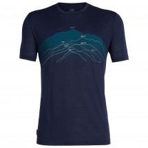 Icebreaker - Spector S/S Crewe Seven Summits - T-skjorte