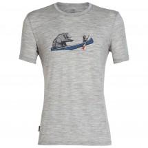 Icebreaker - Tech Lite S/S Crewe Canoe Companions - T-paidat