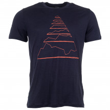 Icebreaker - Spector S/S Crewe Summits Pyramid - T-skjorte