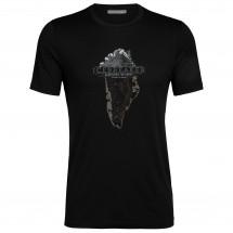 Icebreaker - Tech Lite S/S Crewe Greenland Crest - T-Shirt