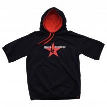 Black Diamond - Red Star Tee Hoodie - Kurzarm-Pullover