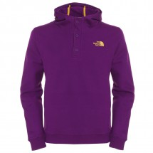 The North Face - Cls Logo 1/2 Button Hoodie