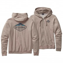 Patagonia - Fitz Roy Crest LW Full-Zip Hooded Sweatshirt