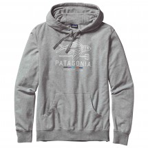 Patagonia - Geodesic Flying Fish LW P/O Hooded Sweatshirt