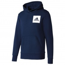 adidas - Essentials Chest Logo Pullover Hood Fleece - Hoodie
