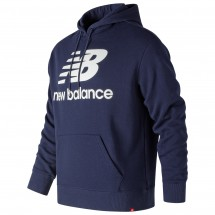 New Balance - Essentials Stacked FT Pullover Hoodie - Pullover