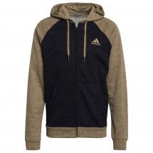 adidas - Mélange Full Zip Hoodie - Munkjacka