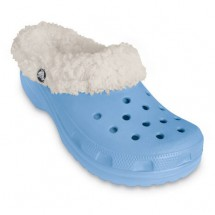 Crocs - Kids Mammoth - Outdoorsandale mit Fellfütterung