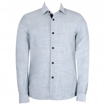 Alchemy Equipment - Linen Blend L/S Shirt - Overhemd
