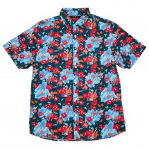 Poler - Floral Fantasia Short Sleeve Button Up - Shirt