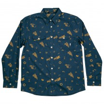 Poler - Wheelie Long Sleeve Button Up - Paita