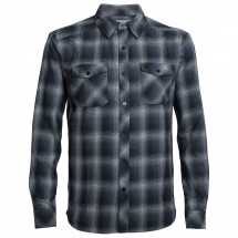 Icebreaker - Lodge L/S Flannel Shirt - Chemise
