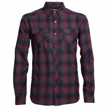 Icebreaker - Lodge L/S Flannel Shirt - Hemd