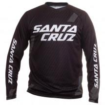 Santa Cruz - Stacked Logo L/S Trail Jersey - Pyöräilypusero
