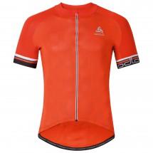 Odlo - Breathe Stand-Up Collar S/S Full Zip - Fietsshirt