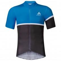 Odlo - Kamikaze Stand-Up Collar S/S Full Zip - Cycling jerse