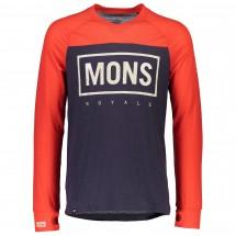 Mons Royale - Redwood V L/S Box Logo - Cycling jersey
