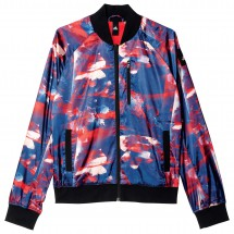 adidas - Women's Flower Bomber Jacket - Casual jacket