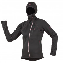 R'adys - Women's R7W Stretchfleece Hooded Jacket BL