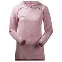 Bergans - Women's Cecilie Wool Shirt W/Hood - Merino sweater