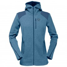 Norrøna - Women's Tamok Warm/Wool2 Zip Hood - Wool jacket