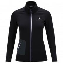 Peak Performance - Women's Black Light Mid Zip Jacket