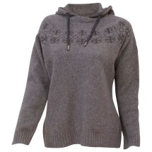Ivanhoe of Sweden - Women's Moa Hood - Merino jumpers