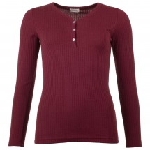 Engel - Women's Shirt L/S mit Knopfleiste - Merinovillapulloverit
