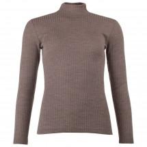 Engel - Women's Shirt L/S mit Stehkragen - Merino trui