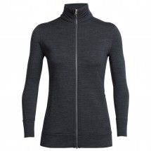 Icebreaker - Women's Dia L/S Zip - Wool jacket