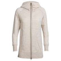 Icebreaker - Women's Dia Long Hooded Jacket - Wolljacke