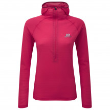 Mountain Equipment - Women's Solar Eclipse Hooded Zip Tee - Fleece jumper